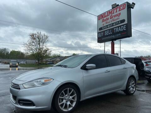 2013 Dodge Dart for sale at Unlimited Auto Group in West Chester OH