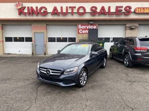2016 Mercedes-Benz C-Class for sale at KING AUTO SALES  II in Detroit MI