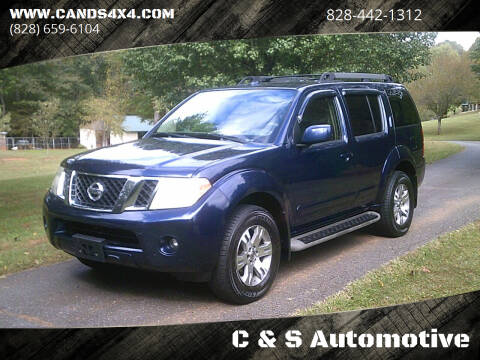 2010 Nissan Pathfinder for sale at C & S Automotive in Nebo NC