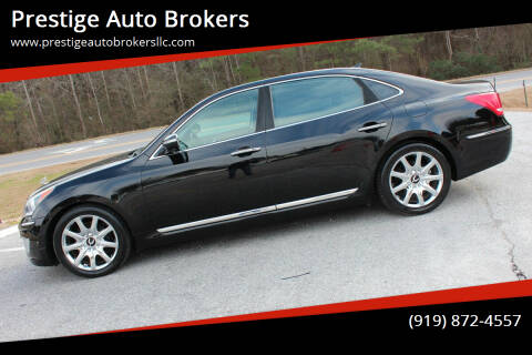 2011 Hyundai Equus for sale at Prestige Auto Brokers in Raleigh NC