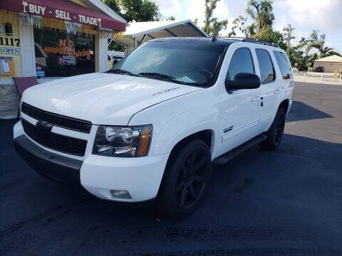 2012 Chevrolet Tahoe for sale at ANYTHING ON WHEELS INC in Deland FL