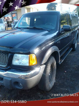 2002 Ford Ranger for sale at 2 Way Auto Sales in Spokane Valley WA