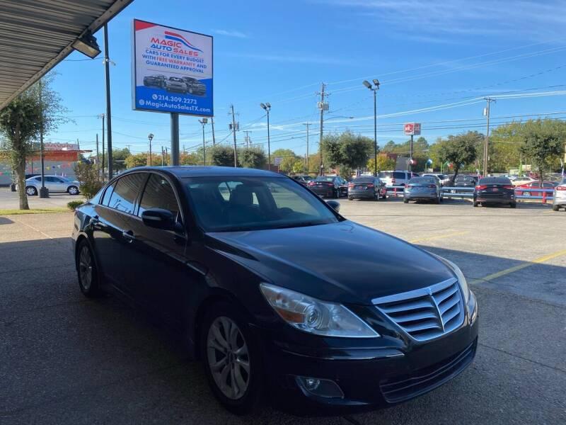 2012 Hyundai Genesis for sale at Magic Auto Sales - Cash Cars in Dallas TX