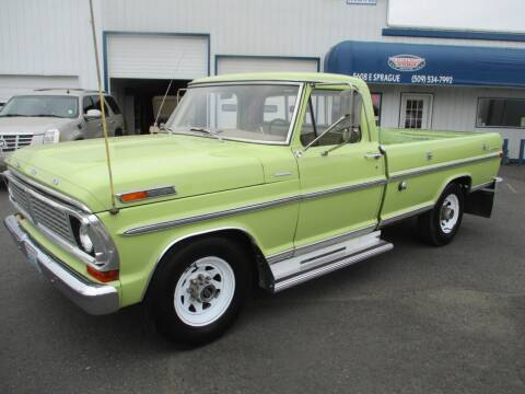 1970 Ford CAMPER SPECAIL for sale at Independent Auto Sales in Spokane Valley WA