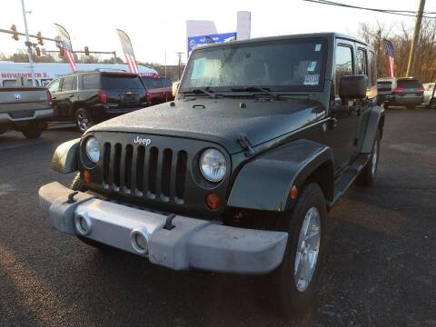 2008 Jeep Wrangler Unlimited for sale at P J McCafferty Inc in Langhorne PA