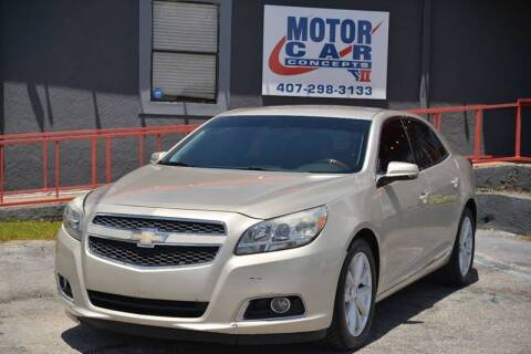 2013 Chevrolet Malibu for sale at Motor Car Concepts II - Kirkman Location in Orlando FL