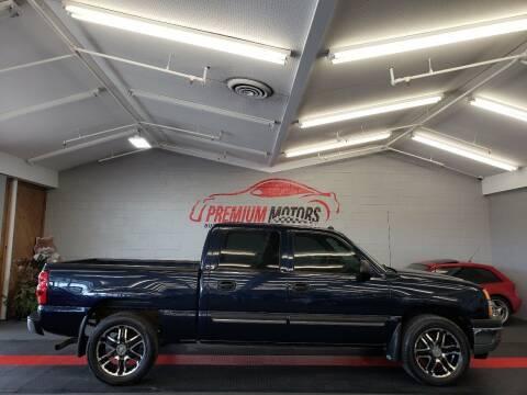 2005 Chevrolet Silverado 1500 for sale at Premium Motors in Villa Park IL