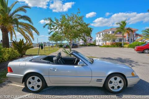 2000 Mercedes-Benz SL-Class for sale at Top Classic Cars LLC in Fort Myers FL