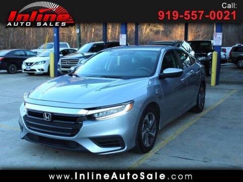 2019 Honda Insight for sale at Inline Auto Sales in Fuquay Varina NC