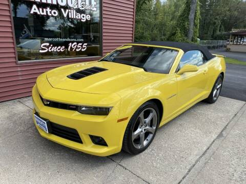 2014 Chevrolet Camaro for sale at Marcotte & Sons Auto Village in North Ferrisburgh VT