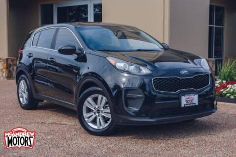 2017 Kia Sportage for sale at Mcandrew Motors in Arlington TX