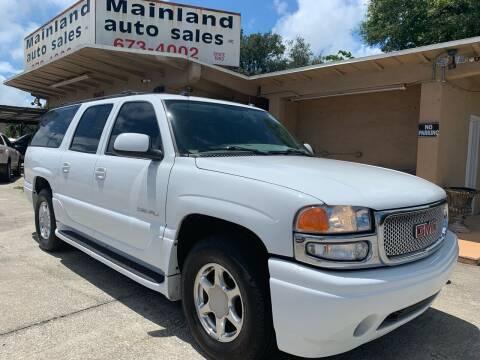 2004 GMC Yukon XL for sale at Mainland Auto Sales Inc in Daytona Beach FL
