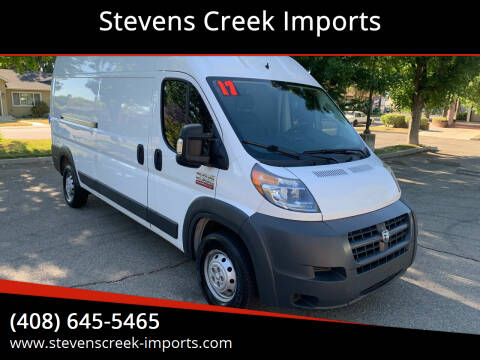 2017 RAM ProMaster Cargo for sale at Stevens Creek Imports in San Jose CA