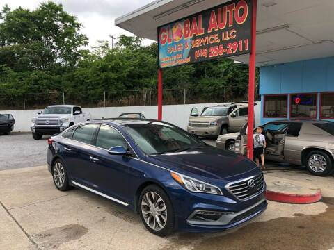 2015 Hyundai Sonata for sale at Global Auto Sales and Service in Nashville TN