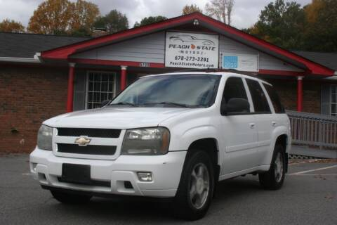 2006 Chevrolet TrailBlazer for sale at Peach State Motors Inc in Acworth GA