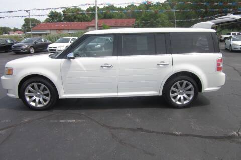 2011 Ford Flex for sale at Burgess Motors Inc in Michigan City IN