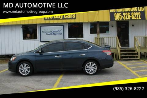 2013 Nissan Sentra for sale at MD AUTOMOTIVE LLC in Slidell LA