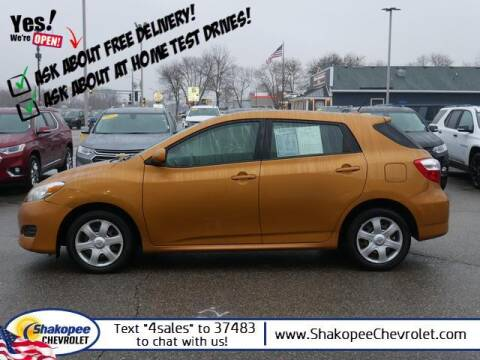 2009 Toyota Matrix for sale at SHAKOPEE CHEVROLET in Shakopee MN