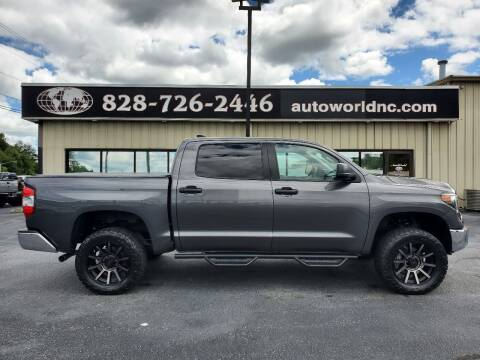 2020 Toyota Tundra for sale at AutoWorld of Lenoir in Lenoir NC