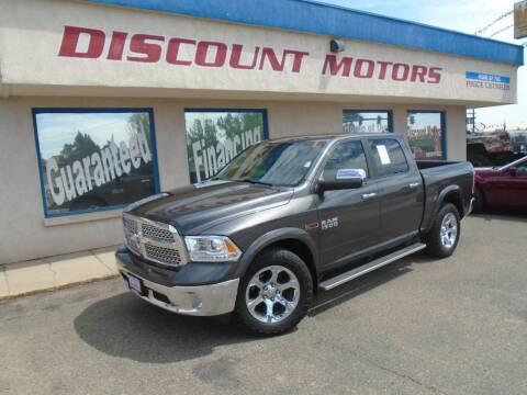 2017 RAM Ram Pickup 1500 for sale at Discount Motors in Pueblo CO