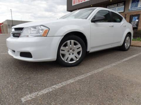 2013 Dodge Avenger for sale at Flywheel Motors, llc. in Olive Branch MS