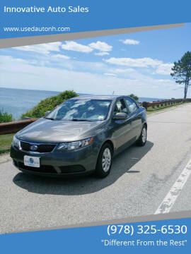 2012 Kia Forte for sale at Innovative Auto Sales in North Hampton NH