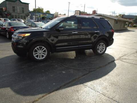2015 Ford Explorer for sale at NORTHLAND AUTO SALES in Dale WI
