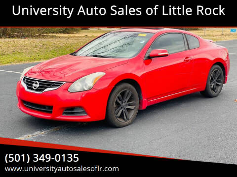 2010 Nissan Altima for sale at University Auto Sales of Little Rock in Little Rock AR