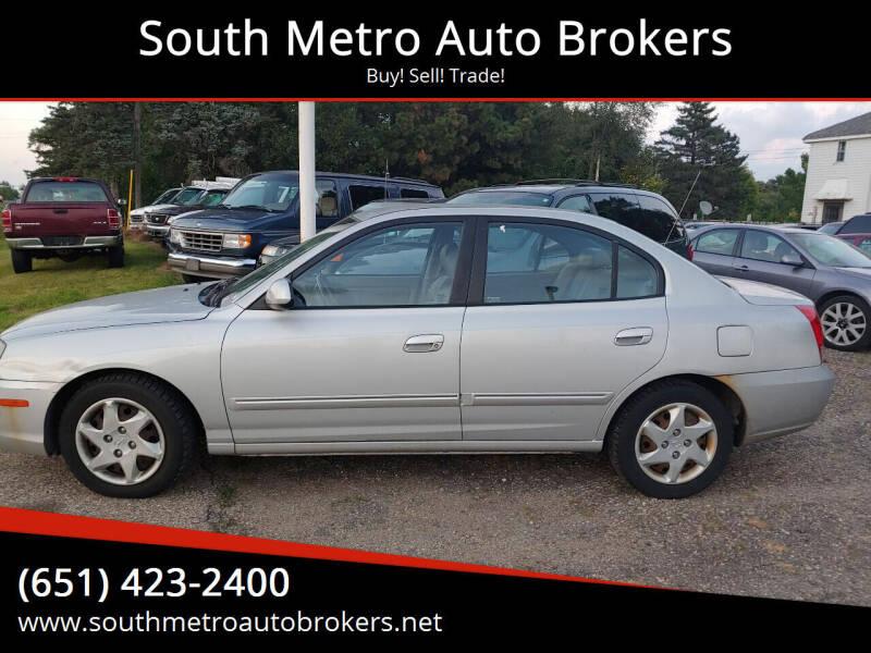 2006 Hyundai Elantra for sale at South Metro Auto Brokers in Rosemount MN