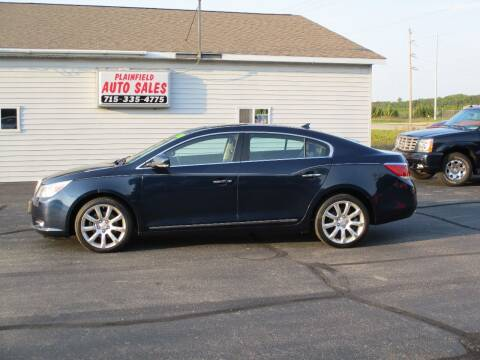 2010 Buick LaCrosse for sale at Plainfield Auto Sales, LLC in Plainfield WI