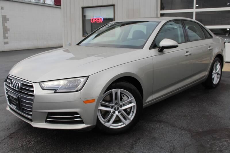 2017 Audi A4 for sale at Platinum Motors LLC in Reynoldsburg OH