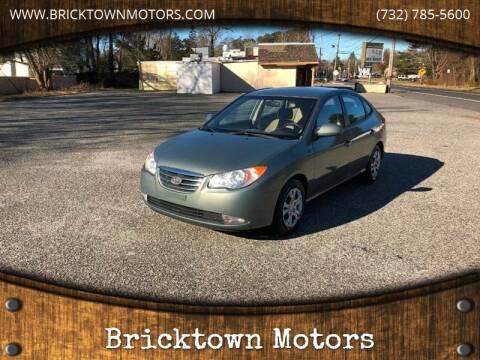 2010 Hyundai Elantra for sale at Bricktown Motors in Brick NJ