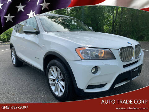 2014 BMW X3 for sale at AUTO TRADE CORP in Nanuet NY