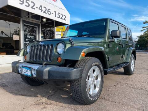 2008 Jeep Wrangler Unlimited for sale at Mainstreet Motor Company in Hopkins MN
