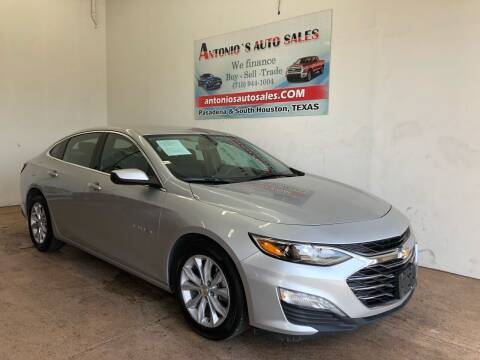 2020 Chevrolet Malibu for sale at Antonio's Auto Sales in South Houston TX