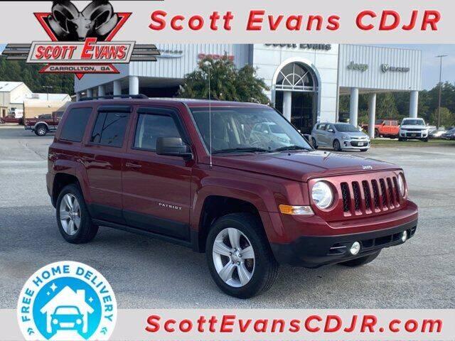 2012 Jeep Patriot for sale at SCOTT EVANS CHRYSLER DODGE in Carrollton GA