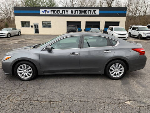 2017 Nissan Altima for sale at Fidelity Automotive LLC in Cincinnati OH