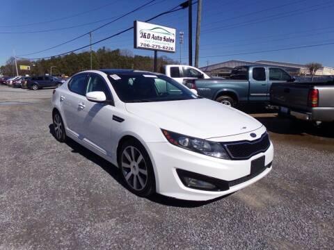 2012 Kia Optima for sale at J & D Auto Sales in Dalton GA