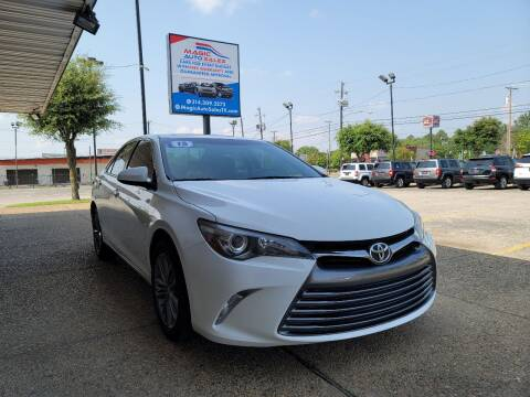 2015 Toyota Camry for sale at Magic Auto Sales in Dallas TX