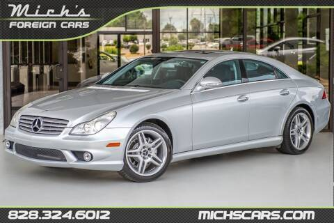 2007 Mercedes-Benz CLS for sale at Mich's Foreign Cars in Hickory NC