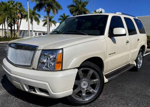 2004 Cadillac Escalade for sale at Maxicars Auto Sales in West Park FL