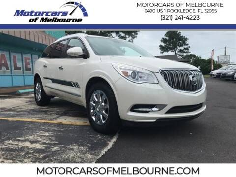 2015 Buick Enclave for sale at Motorcars of Melbourne in Rockledge FL