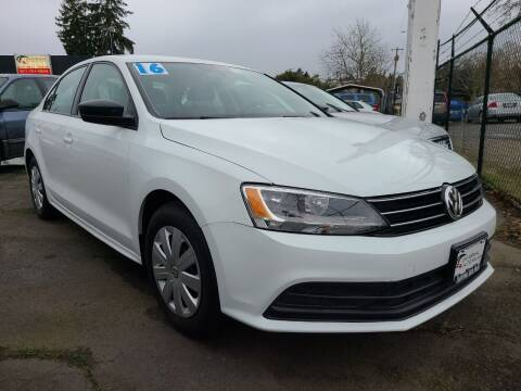 2016 Volkswagen Jetta for sale at Universal Auto Sales in Salem OR