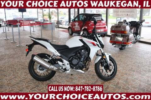 2013 Honda CB500F for sale at Your Choice Autos - Waukegan in Waukegan IL
