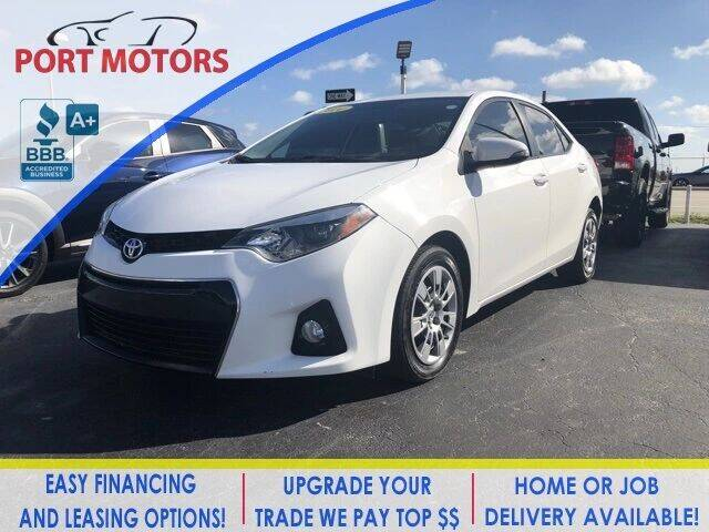 2014 Toyota Corolla for sale at Automotive Credit Union Services in West Palm Beach FL