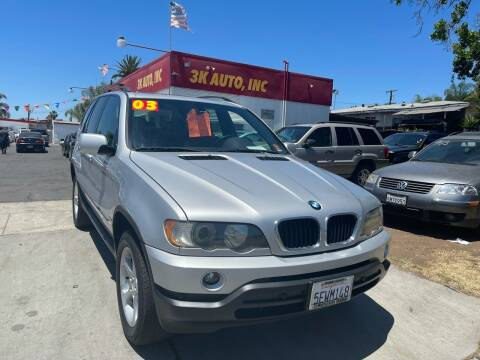 2003 BMW X5 for sale at 3K Auto in Escondido CA