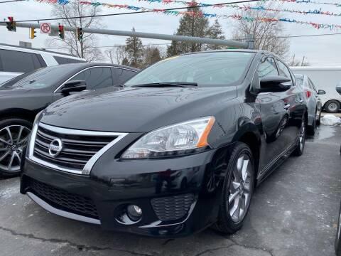 2015 Nissan Sentra for sale at WOLF'S ELITE AUTOS in Wilmington DE