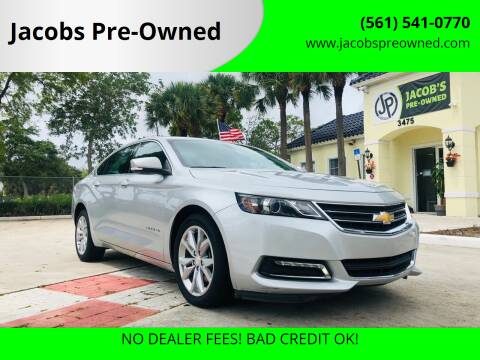 2018 Chevrolet Impala for sale at Jacobs Pre-Owned in Lake Worth FL
