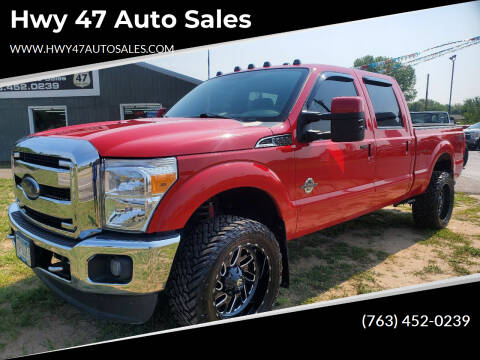 2014 Ford F-350 Super Duty for sale at Hwy 47 Auto Sales in Saint Francis MN