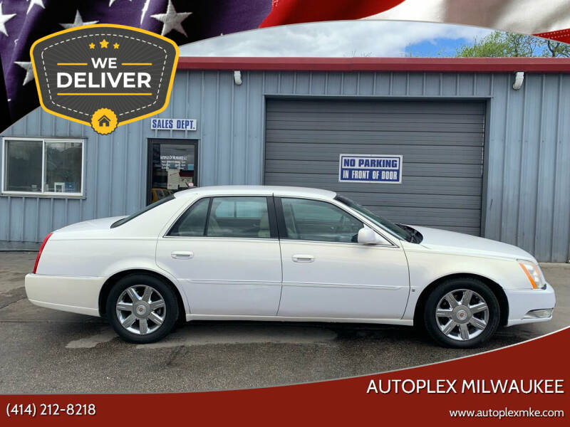 2007 Cadillac DTS for sale at Autoplex Milwaukee in Milwaukee WI